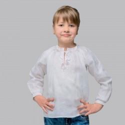 Chemise blanche brodée...