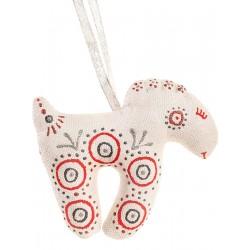 Chèvre rouge-argentée