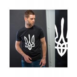 """T-shirts homme """"Trident"""" noir"""