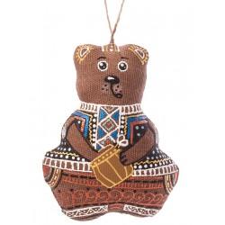 Ours avec miel