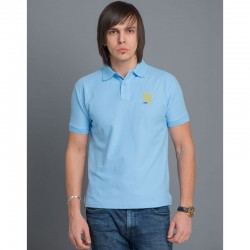 "Polo homme ""Trident"" blue"
