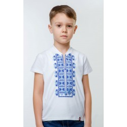T-shirt brodé manches...
