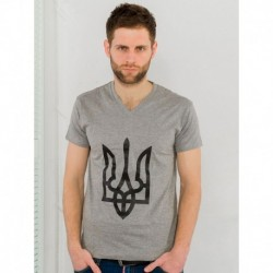 "T-shirts Homme ""Trident"" gris"